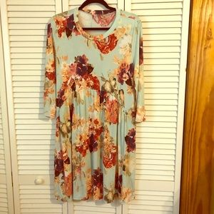 Lightweight Floral Dress